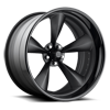 Standard Concave - U501 Matte Black Center | Gloss Black Lip 5 lug